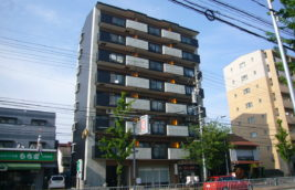 外壁リノベーション工事<br>(名古屋市中村区 賃貸マンション)