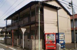 賃貸アパート 外壁塗装塗装<br>(名古屋市南区)