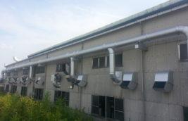 工場 ダクト耐熱塗装<br>(愛知県清須市)