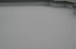店舗 屋上塩ビシート防水工事<br>(名古屋市東区)