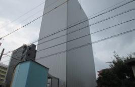 機械式タワー型立体駐車場<br>外壁改修工事<br>(名古屋市名東区)