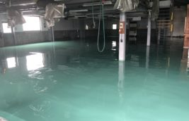 工場 厚膜型エポキシ樹脂塗床<br>(愛知県一宮市)