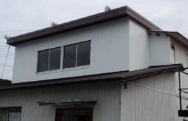 工場事務所 外壁トタン工事<br>(名古屋市西区)
