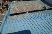 アパート 屋根トタン