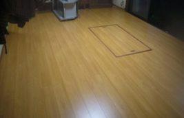 戸建住宅 内装リフォーム工事<br>床フローリング張替え<br>(愛知県北名古屋市)