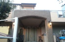 戸建住宅 外壁改修工事<br>ブリック塗装(エレガンスタイルTS)<br>(名古屋市西区)