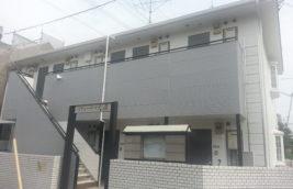 賃貸アパート 外壁改修工事<br>(名古屋市守山区)