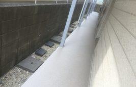 賃貸アパート 廊下階段床<br>防滑性長尺シート工事<br>(名古屋市中区)