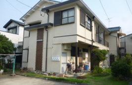 賃貸アパート 外壁塗装工事<br>(愛知県清須市)