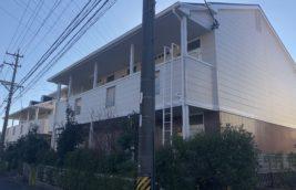 賃貸アパート(2棟) 外壁改修工事<br>(名古屋市南区)
