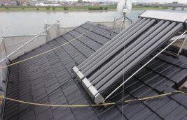 戸建住宅 セメント瓦屋根塗装<br>(愛知県豊橋市)