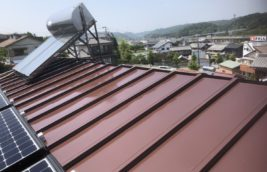 戸建住宅 金属屋根塗装<br>(愛知県小牧市)
